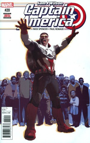 Sam Wilson - Captain America # 20 Issues (2015 - 2017)