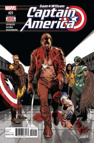 Sam Wilson - Captain America # 21 Issues (2015 - 2017)
