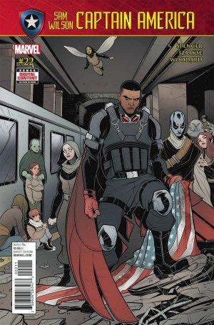 Sam Wilson - Captain America # 22 Issues (2015 - 2017)