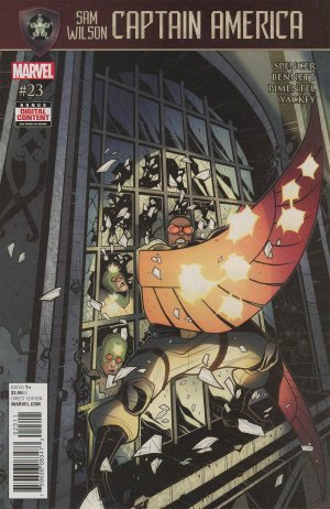 Sam Wilson - Captain America # 23 Issues (2015 - 2017)