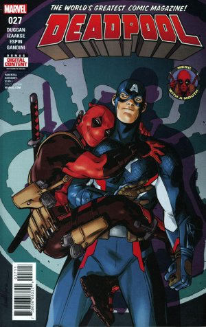 Deadpool # 27 Issues V5 (2016 - 2018)