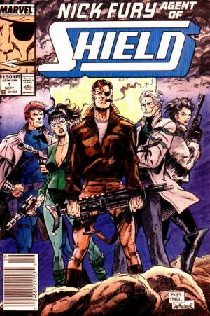 Nick Fury # 1 Issues V3 (1989-1993)