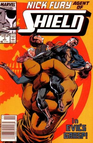 Nick Fury # 3 Issues V3 (1989-1993)