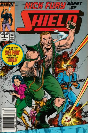 Nick Fury # 4 Issues V3 (1989-1993)