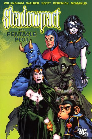 Shadowpact édition TPB softcover (souple)