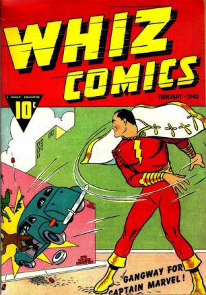 WHIZ Comics édition Issues (1940 - 1953)