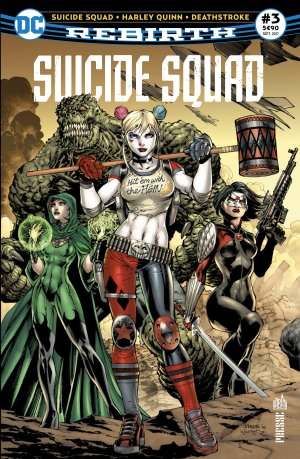 Suicide Squad Rebirth # 3