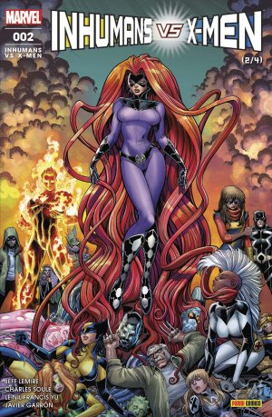 Inhumans Vs. X-Men T.2
