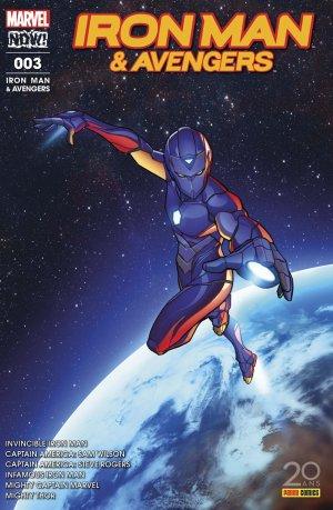 Infamous Iron Man # 3 Kiosque (2017)