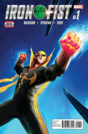 Iron Fist édition Issues V5 (2017 - 2018)