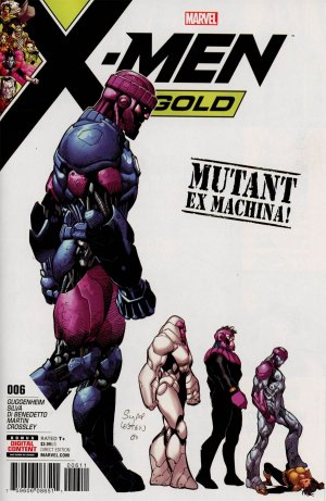 X-Men - Gold # 6