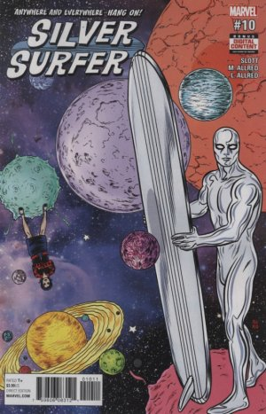 Silver Surfer # 10 Issues V8 (2016 - 2017)