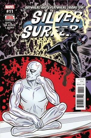 Silver Surfer # 11 Issues V8 (2016 - 2017)