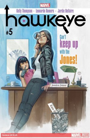 Hawkeye # 5 Issues V5 (2016 - 2018)