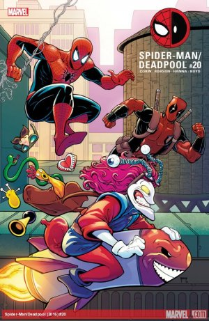 Spider-Man / Deadpool # 20 Issues (2016 - Ongoing)
