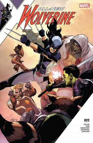 All-New Wolverine # 22 Issues (2015 - 2018)