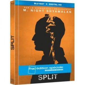 Split édition Digibook Collector Edition spéciale Fnac