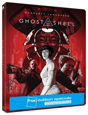 Ghost In The Shell édition Steelbook FNAC