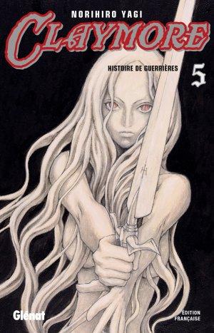 couverture, jaquette Claymore 5  (Glénat Manga) Manga