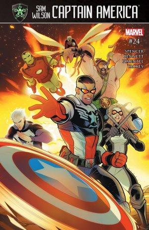 Sam Wilson - Captain America # 24 Issues (2015 - 2017)