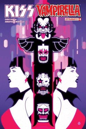KISS / Vampirella # 4 Issues (2017)