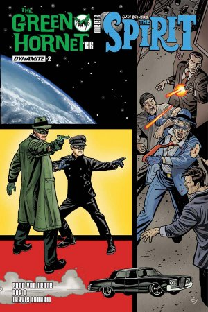 The Green Hornet '66 meets The Spirit # 2 Issues (2017)