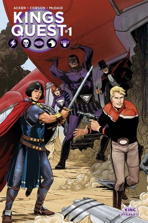 Kings Quest édition Issues (2016)