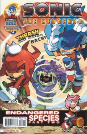 Sonic The Hedgehog # 244 Issues V1 (1993 - 2017)