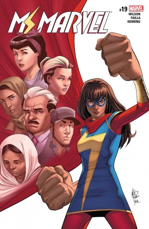 Ms. Marvel # 19 Issues V4 (2015 - 2019)