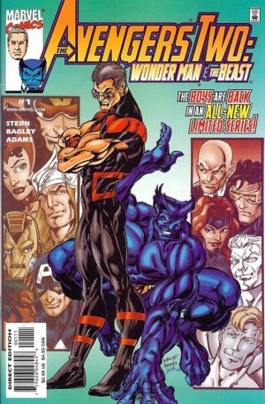 Avengers Two - Wonder Man and Beast # 1 Issues