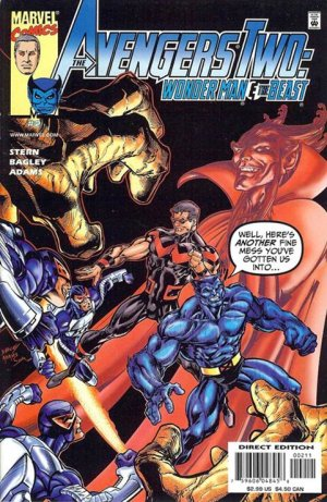 Avengers Two - Wonder Man and Beast # 2 Issues