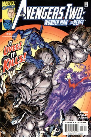 Avengers Two - Wonder Man and Beast # 3 Issues