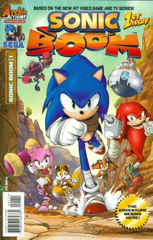 Sonic Boom édition Issues (2014 - 2015)