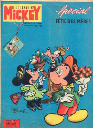Le journal de Mickey 730