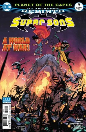 Super Sons # 9 Issues V1 (2017 - 2018)