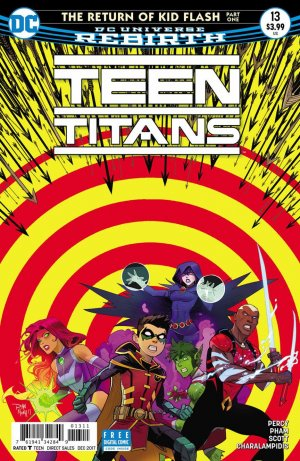 Teen Titans # 13 Issues V6 (2016 - Ongoing)
