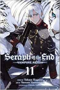 couverture, jaquette Seraph of the end 11  (Viz media)