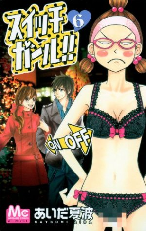 couverture, jaquette Switch Girl !! 6  (Shueisha)