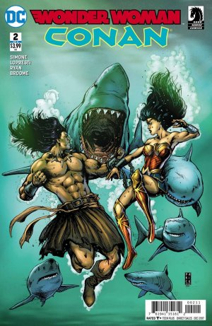 Wonder Woman / Conan # 2 Issues