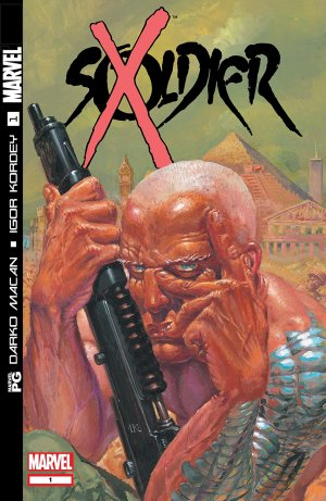 Soldier X édition Issues (2002 - 2003)