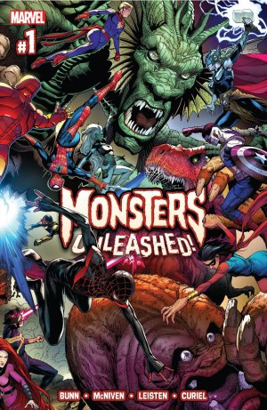 Monsters Unleashed # 1 Issues V2 (2017)
