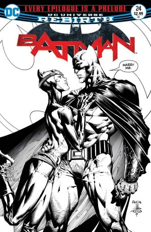 Batman 24 - 3rd print variant cover