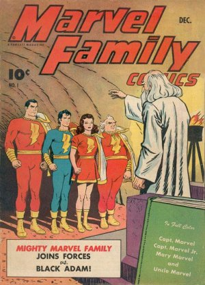 The Marvel Family édition Issues (1945 - 1954)