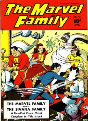 The Marvel Family # 10 Issues (1945 - 1954)