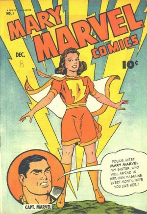 Mary Marvel édition Issues (1945 - 1948)