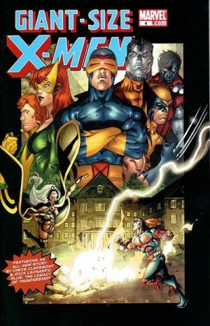 Giant-Size X-Men 4 - Finding Home !