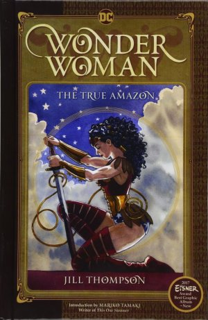 Wonder Woman - The True Amazon édition Library binding