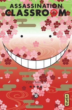 couverture, jaquette Assassination Classroom 18  (kana)