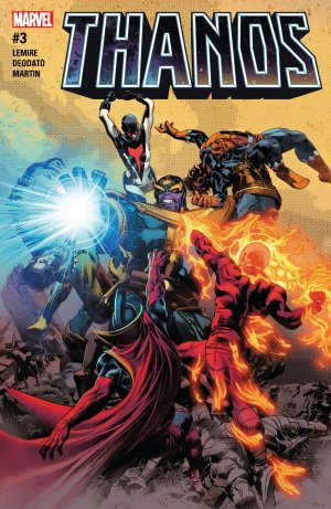 Thanos # 3 Issues V2 (2016 - 2018)