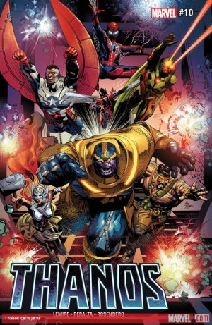 Thanos # 10 Issues V2 (2016 - 2018)